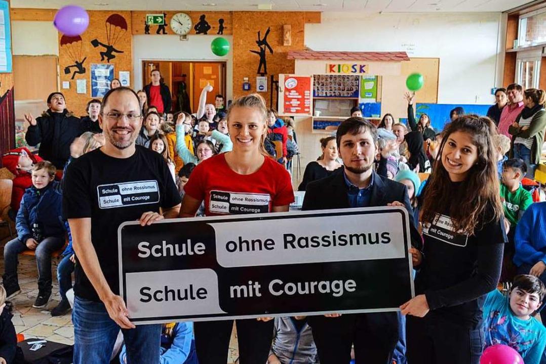 Ein Titel, der verpflichtet  – d... Haiß, Referendarin Nathalie Klausmann  | Foto: Gabriele Hennicke