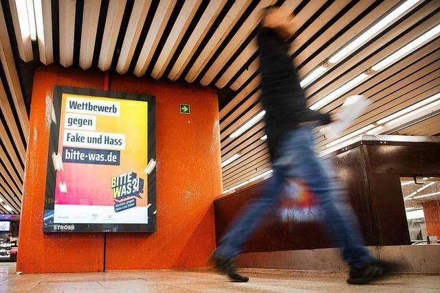 Landesweite Plakat-Aktion gegen Hass und Hetze im Netz gestartet
