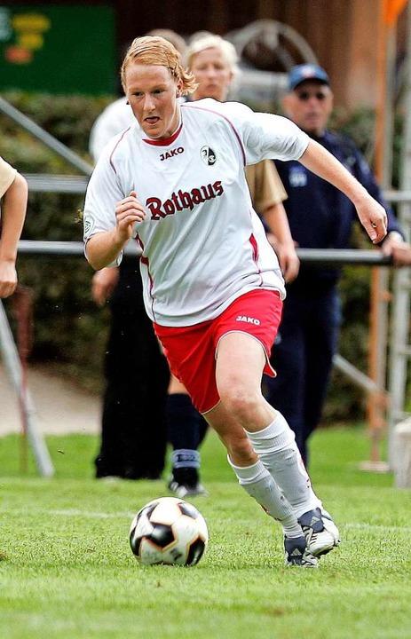 2005 im Trikot des SC Freiburg  | Foto: SC Freiburg Frauen