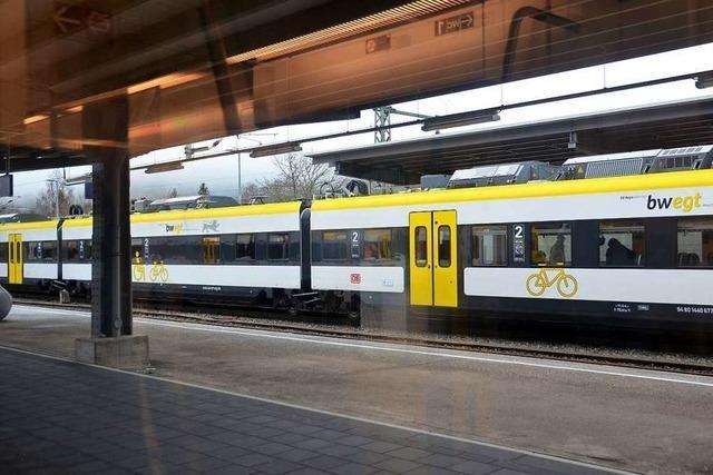 Umsteigen statt Durchfahren: Breisgau-S-Bahn wird ab Februar unterbrochen