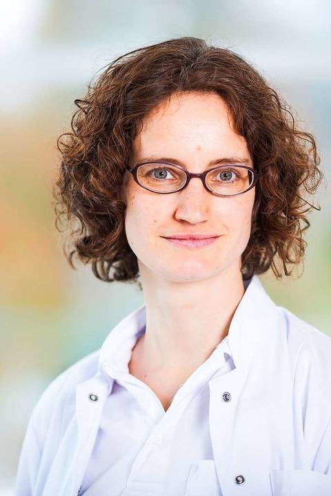 Dr.  Inga Westermilies, Sektionsleiter...ischen Abteilung der Breisacher Klinik  | Foto: Christian Hanner