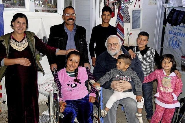 Weihnachten im Flüchtlingslager