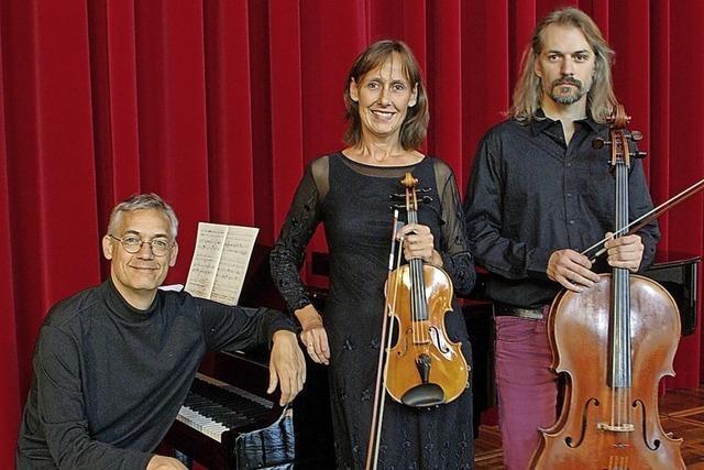 Das Varnhagen-Trio bestreitet das 3. Kammerkonzert im Theater Freiburg