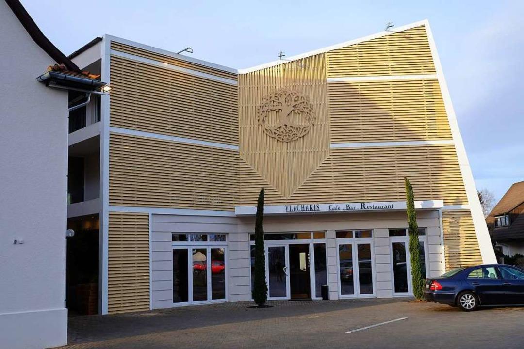 Das Gebäude ist geprägt von seiner markanten Fassade.  | Foto: Martin Pfefferle