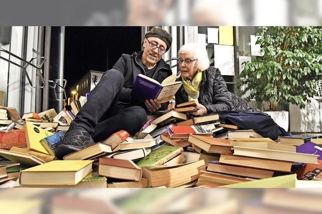 Eintauchen in die Literatur