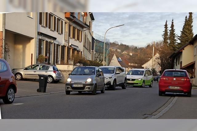 Wie parken und fahren, ist die Frage