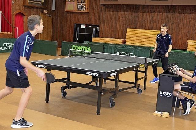 Tischtennisclub Albtal spielt seine Meister aus