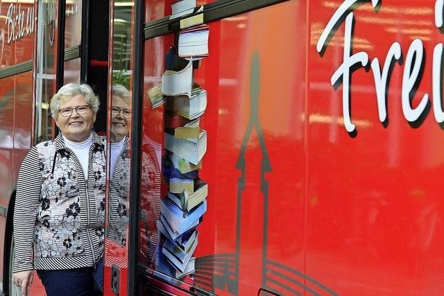 38 Jahre mit dem Bücherbus unterwegs