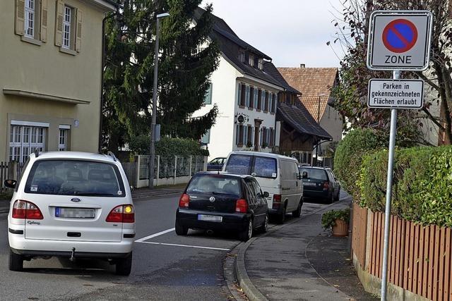 Für Ordnung beim Parken