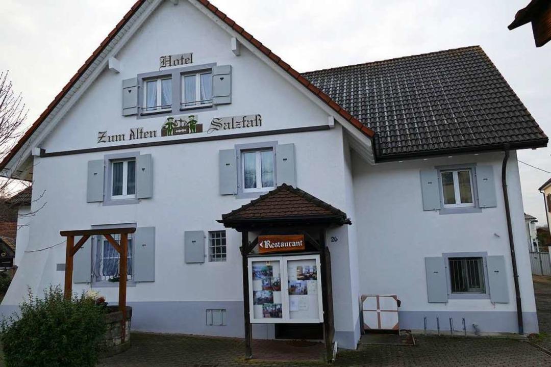 """Das Hotel Restaurant """"Zum Alten ...es bis 1985 """"Ochsen"""" hieß.    Foto: Victoria Langelott"""