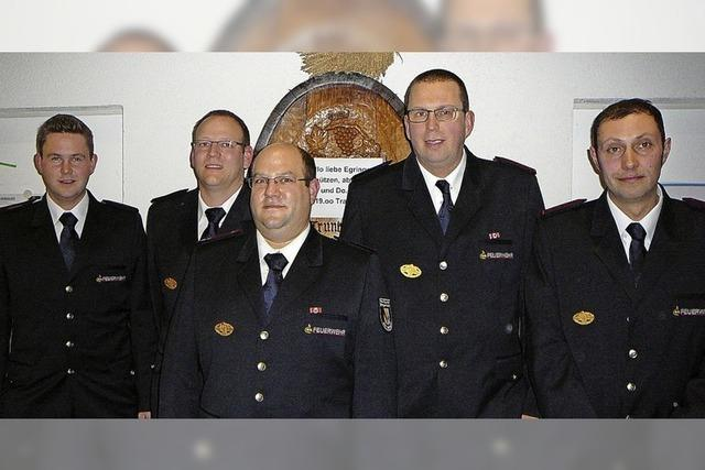 Die Ausbildung hört für Feuerwehrleute nie auf