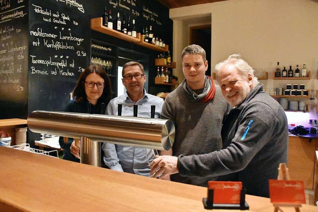 Sandra Klein-Gißler, Andreas Baldus, F...ks) freuen sich auf das Jubiläumsjahr.  | Foto: Andrea Gallien