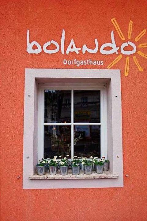 Heute ist das Dorfgasthaus Bolando nicht mehr aus Bollschweil wegzudenken.  | Foto: Anne Freyer