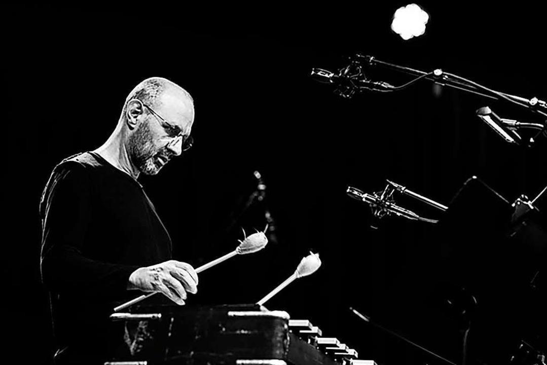 Jorge Rossy erfindet sich als Vibrapho...ässt nun Joey Baron für sich trommeln.  | Foto: Hreinn Gudlaugsson
