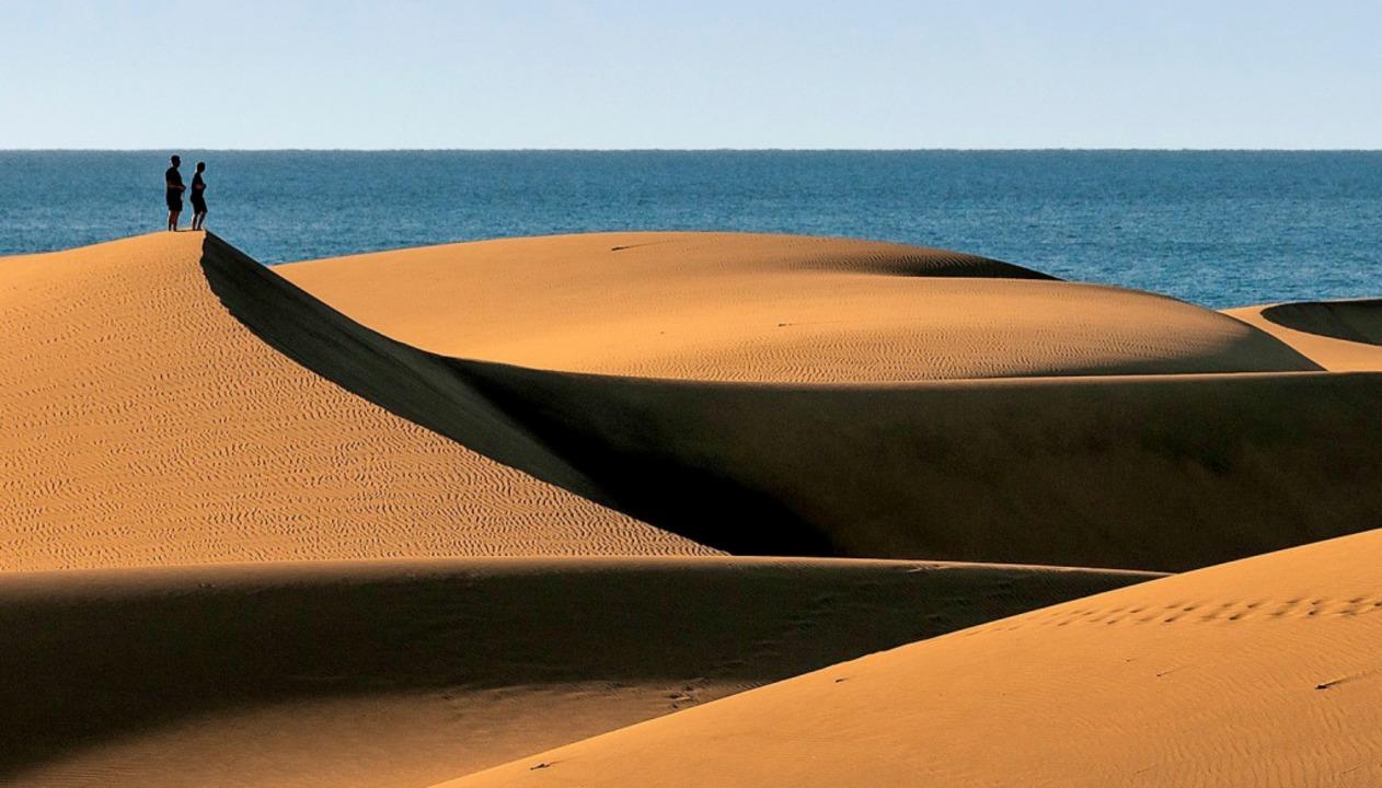 Sandmeer:  Gran Canarias Dünen in  Mas...für Szenen, die in der Sahara spielen.  | Foto: PawelUchorczak - stock.adobe.com