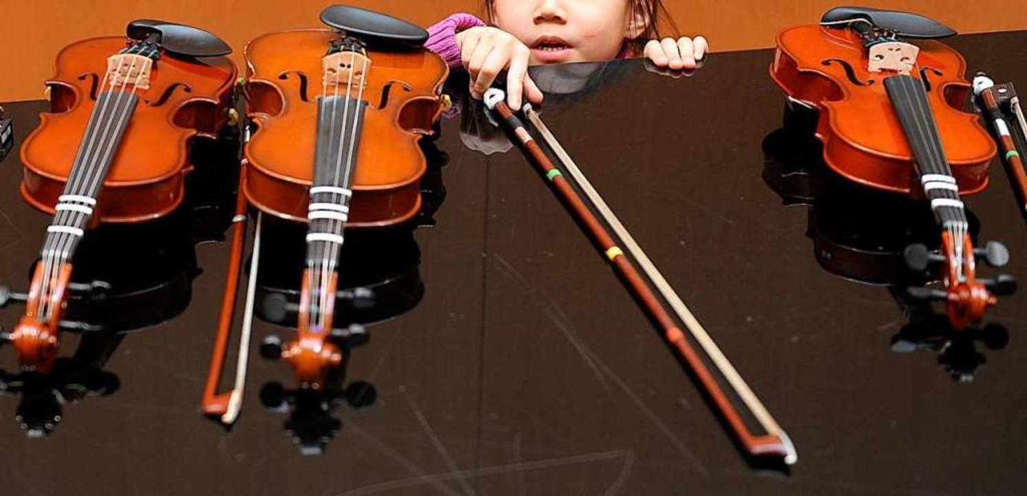 Längst nicht allen Kindern ist es verg...nt zu lernen. Foto: David Ebener (dpa)  | Foto: David Ebener