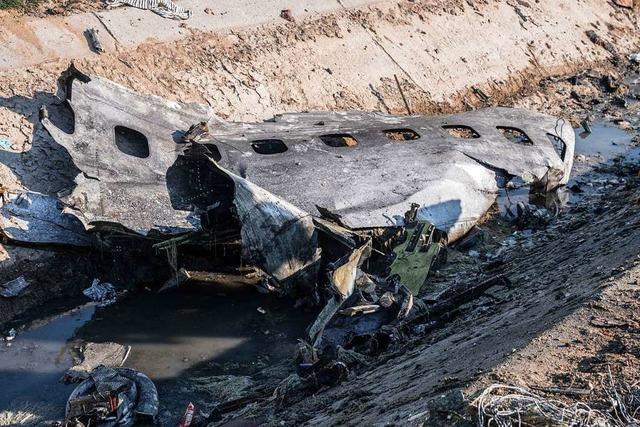 Iran bezieht die USA in Untersuchung von Flugzeugabsturz ein