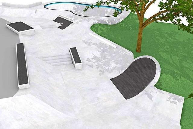 Freiburgs Skater bekommen einen Backyard Pool