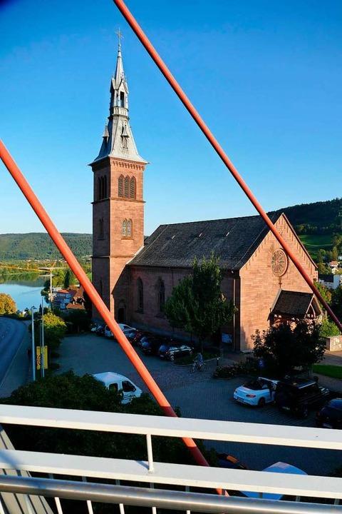 Die Heilig-Geist-Kirche in Laufenburg    Foto: Winfried Dietsche