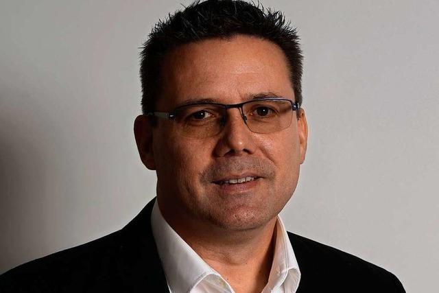Bürgermeisterkandidat Markus Biller stellt sich der Öffentlichkeit vor