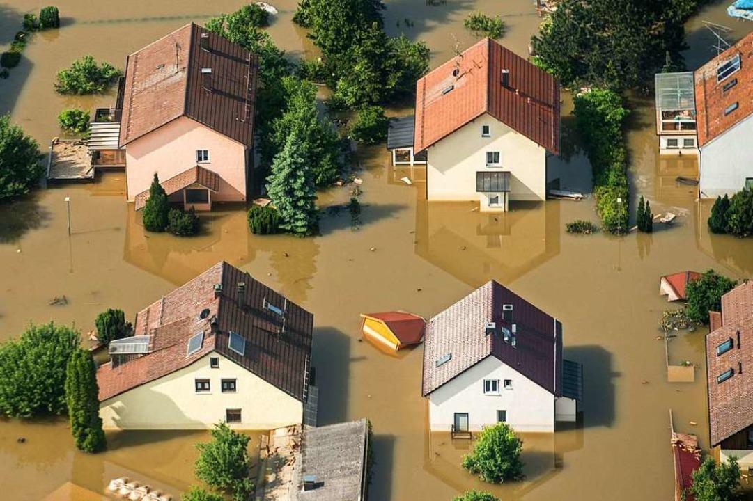 Kommunen in Südbaden, die von Hochwass...en künftig zu verhindern. (Symbolfoto)    Foto: Armin Weigel