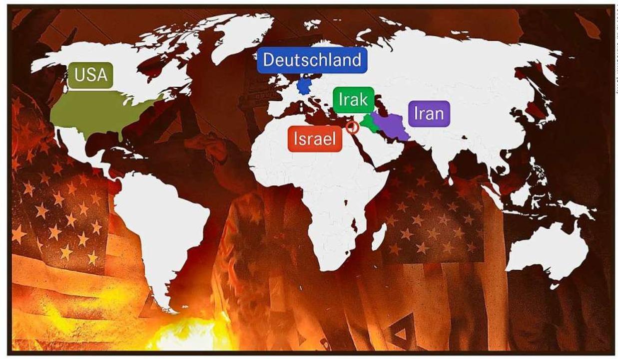Wenn Zwei Sich Streiten Der Konflikt Zwischen Den Usa Und Dem