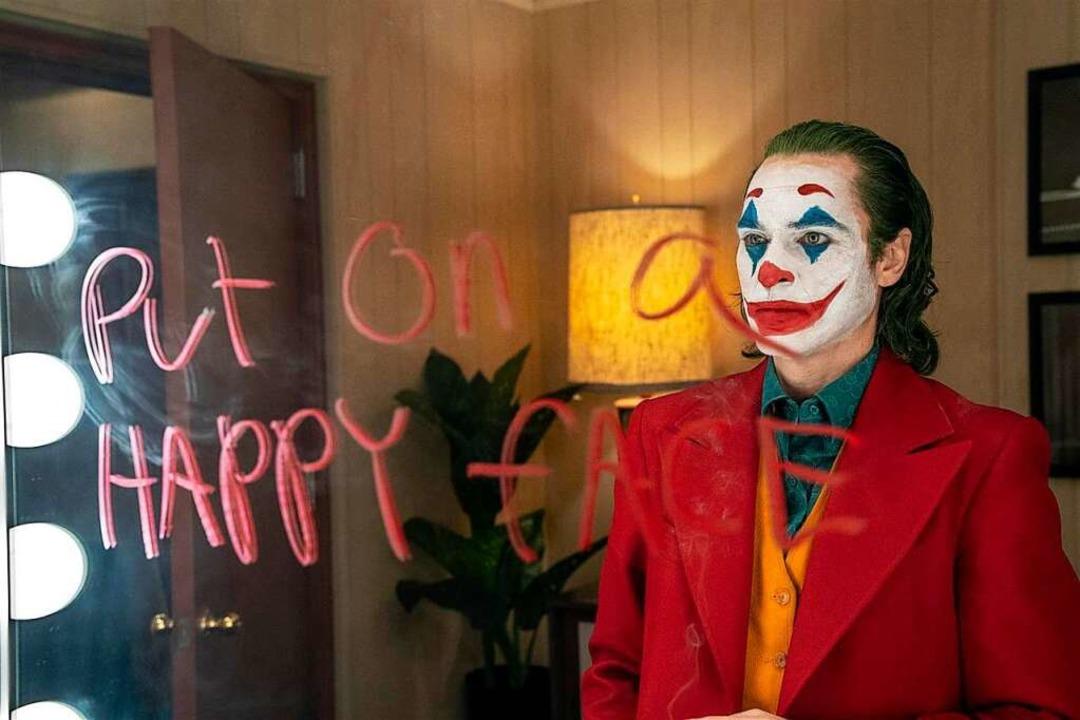"Der ""Joker""    Foto: 2019 Warner Bros. Entertainment Inc. A...ved. TM & © DC Comics / Niko Tavernise"