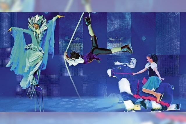 Artistik und Tanz auf dem Kunststoffeis