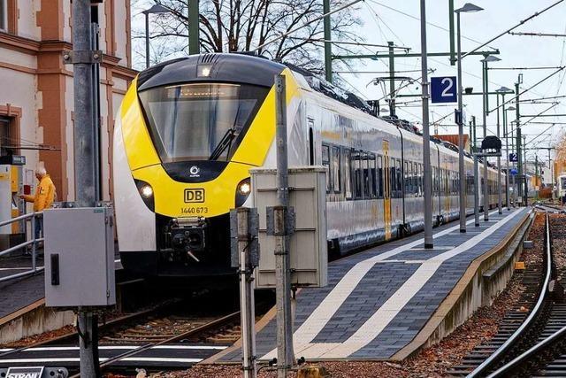 Bald fährt jede zweite Breisgau-S-Bahn von Breisach bis in den Schwarzwald durch