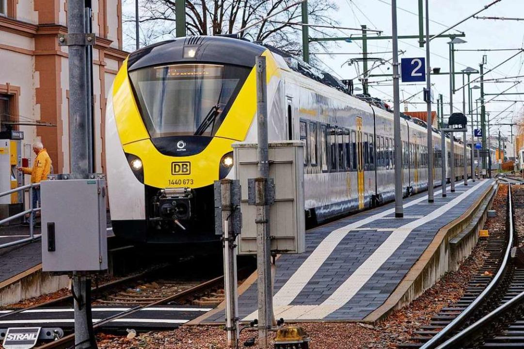 Die Breisgau-S-Bahn soll auch beim neu...die Anschlüsse in Gottenheim schaffen.  | Foto: Martin Wendel