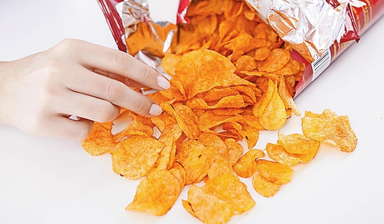 Weniger Chips, Scholade und Co.  ist mehr.    | Foto: Christin Klose