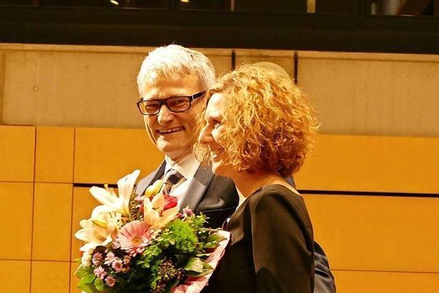 Bürgermeister Martin Löffler wird in Heitersheim verabschiedet