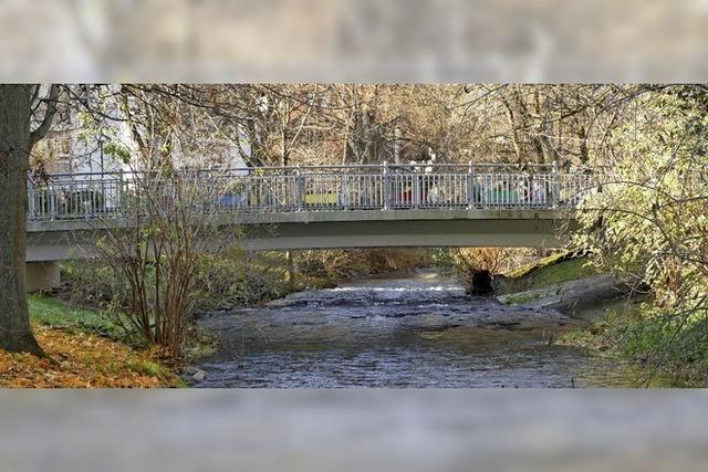 Baubeginn bei der Bernhardusbrücke