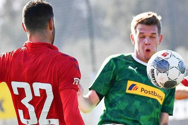 SC Freiburg unterliegt in zwei Testspielen gegen Borussia Mönchengladbach