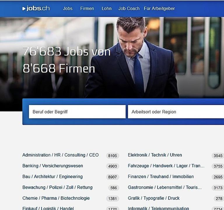 Der Schweizer Arbeitsmark bleibt robust.   | Foto: Screenshot