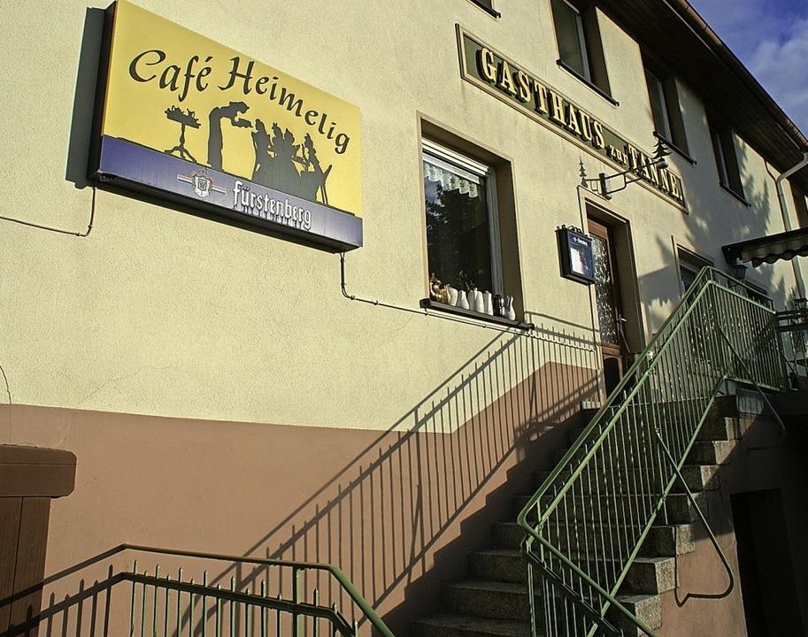 Der Kuchen vom Café Heimelig war in aller Munde.  | Foto: Michael Krug