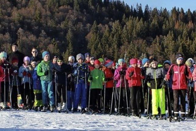 Erfolgreiche Skiwoche nordic
