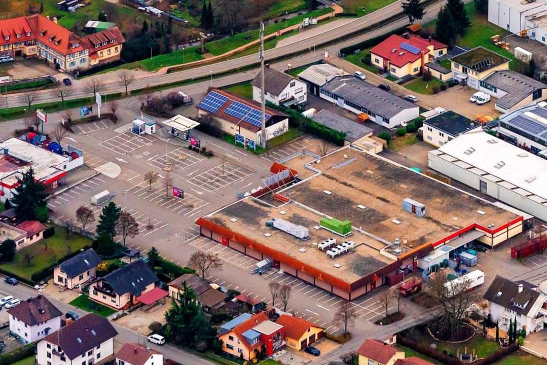 Das Kaufland-Areal an der Rheinstraße ...den Marktes und den Neubau aufgegeben.  | Foto: Martin Bildstein copyright