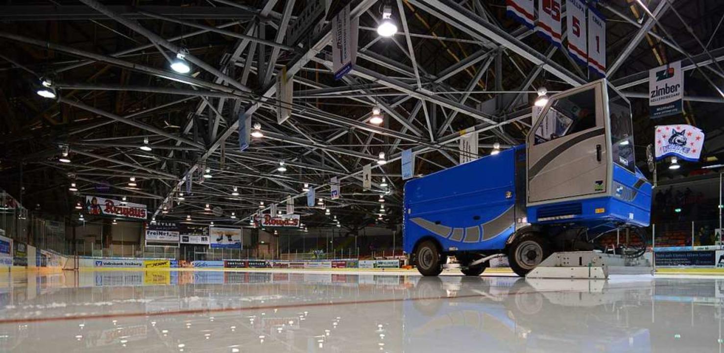 Das Freiburger Eisstadion im Jahr 2013.  | Foto: Patrick Seeger