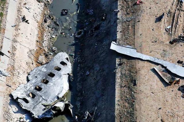 Der Flugzeugkatastrophe von Teheran folgt der Kampf um die Wahrheit