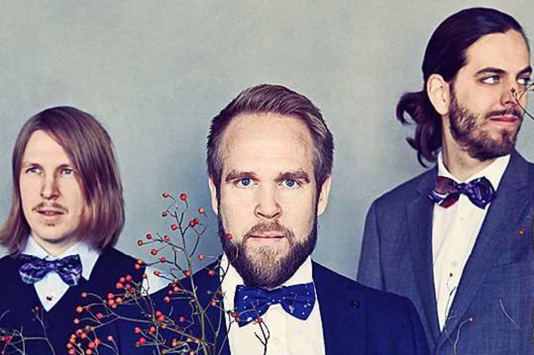 Das Emil Brandquist Trio  | Foto: Fotos v. li. oben nach re. unten: Stev...ntja Wiech, Felix Broede. Montage: BZ.