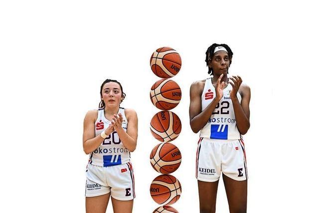 Zwei Freiburger Basketballerinnen trennen 29 Zentimeter