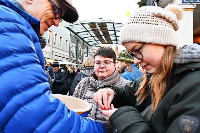 BZ-Weihnachtsaktion im Kreis Lörrach bringt 170.000 ein