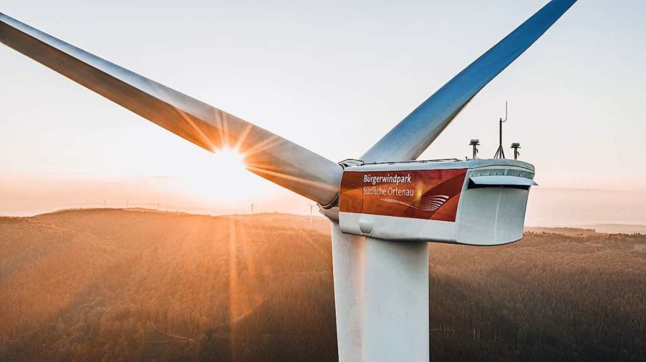 Die vom Land jahrelang empfohlene Gene...ft laufende Windkraft-Projekte zurück.  | Foto: Joscha Bold