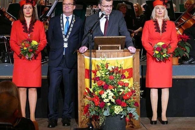 Fotos: Beide Rheinfelden begrüßen das Neue Jahr in guter Stimmung