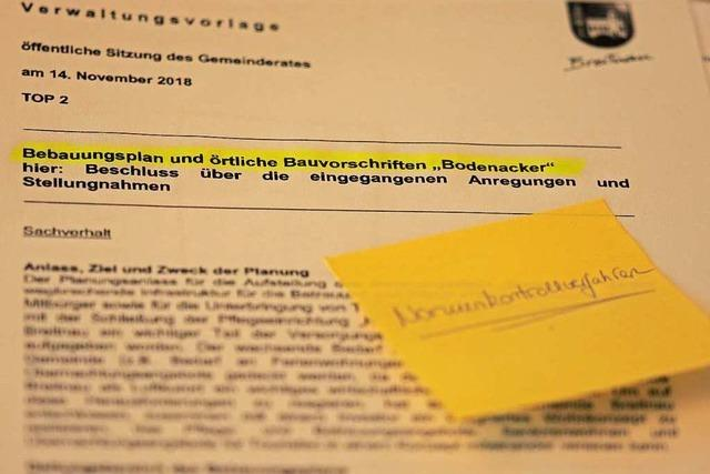 Breitnau muss Bebauungsplan für das Gebiet