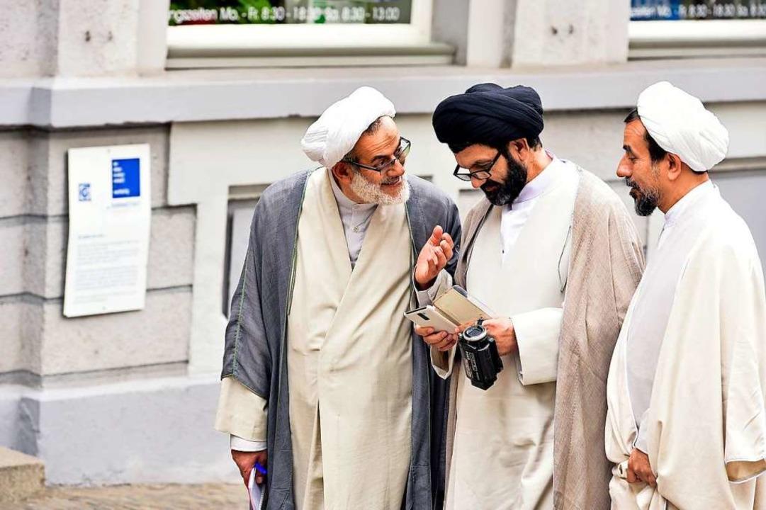 Mullahs aus Isfahan besuchten  Freiburg im Jahr 2017.   | Foto: Thomas Kunz
