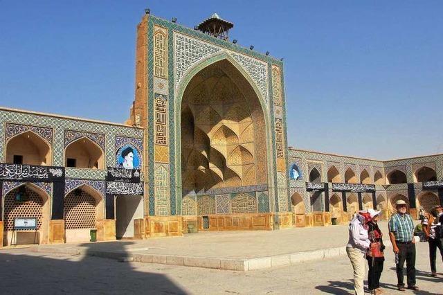 Unterwegs mit einer Bürgerreise in der iranischen Partnerstadt Isfahan