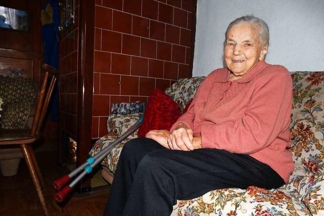 Mit 105 ist Luise Fehrenbach die älteste Bürgerin Titisee-Neustadts