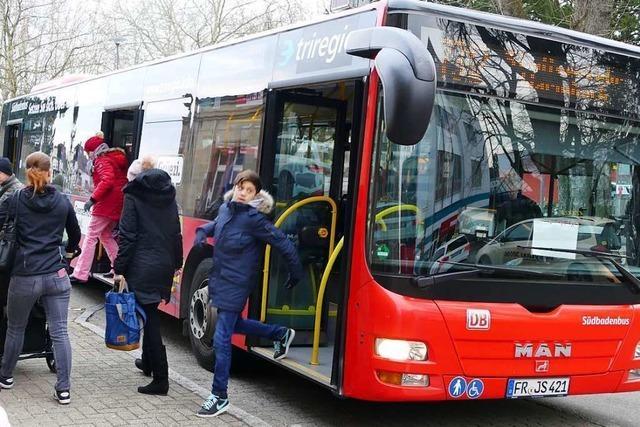 Tempo-30-Zonen und Ampeln bremsen Busse in Rheinfelden aus